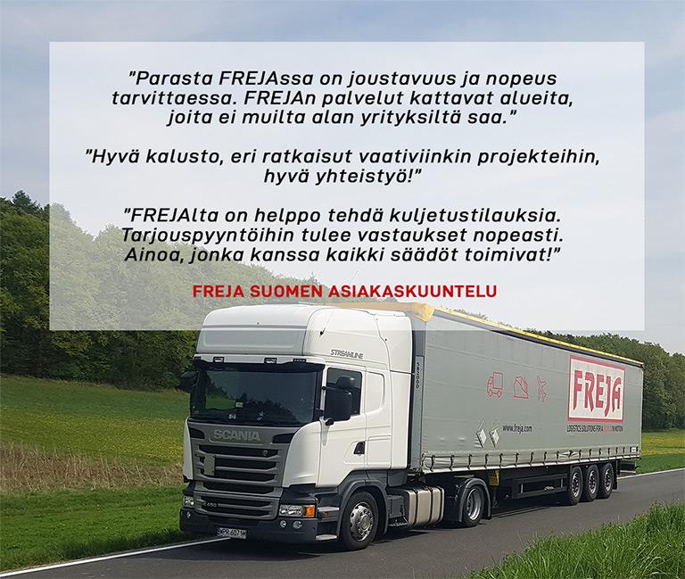 FREJA, Suomen asiakaskuuntelu
