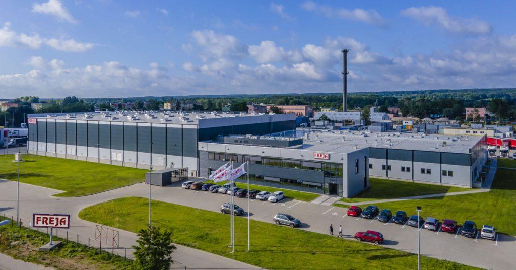 FREJA Puolan logistiikkakeskus